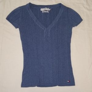 Tommy Hilfiger short sleeved sweater